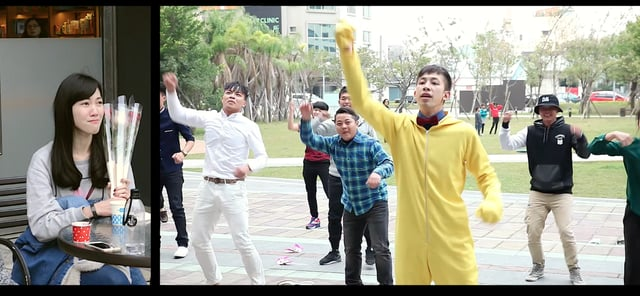 快閃舞求婚-政廷+儀文@台南新光三越