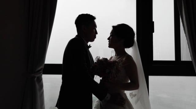 【天羅地網追到妳】快剪快播/婚禮訪談/空拍/新莊典華-RAY&MIKANOT