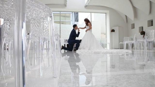 「謝謝你娶我」勁傑&育薇 @新莊典華S1 光廊