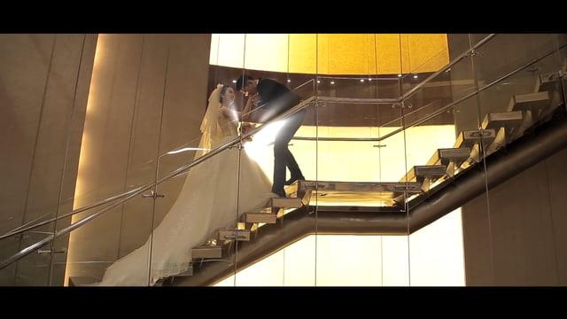 【圍巾。愛情。101】午宴快剪快播|香格里拉台北遠東大飯店-永介&育萱