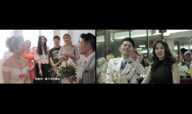 [快剪快播實況]岳父神救援@洄瀾灣景觀餐廳|Hsiang&Chieh