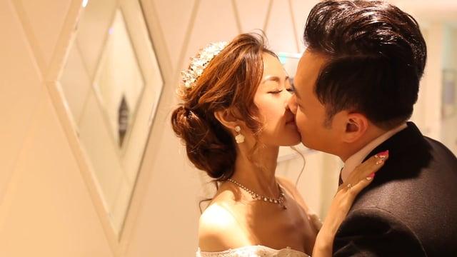 〔婚禮錄影〕時間魔法之假人挑戰@新莊典華-Wayne&Sophie