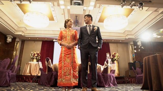 〔婚禮錄影〕我終於穿著白紗站在你面前-彥霖&嘉玲