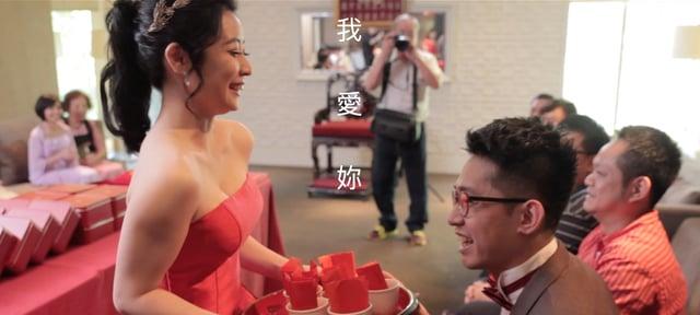 〔婚禮錄影〕鏡中的你@君品酒店-耀仁&藝鴻