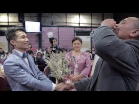 【婚禮錄影 雙機】原住民婚禮|教堂證婚-秉謙&艷珍