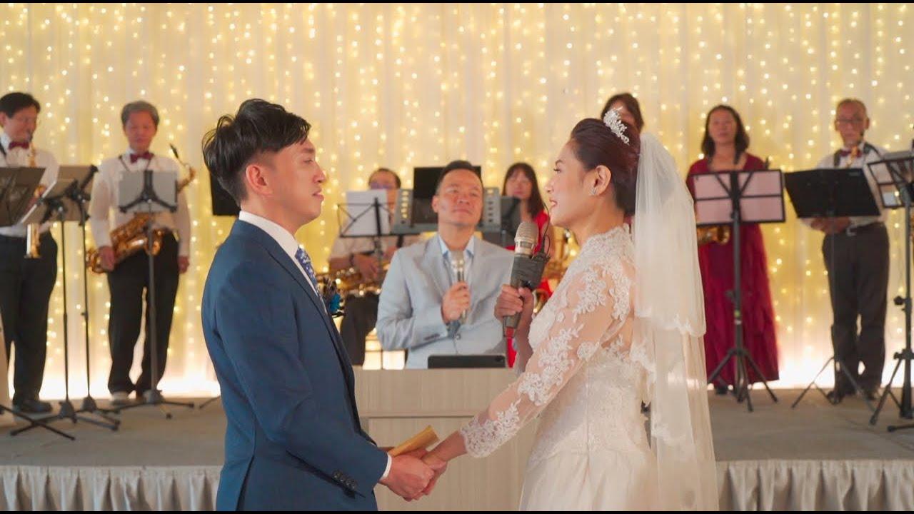 【 快剪快播】婚禮錄影@晶宴民權館&國泰萬怡酒店 – Eddie&Lydia